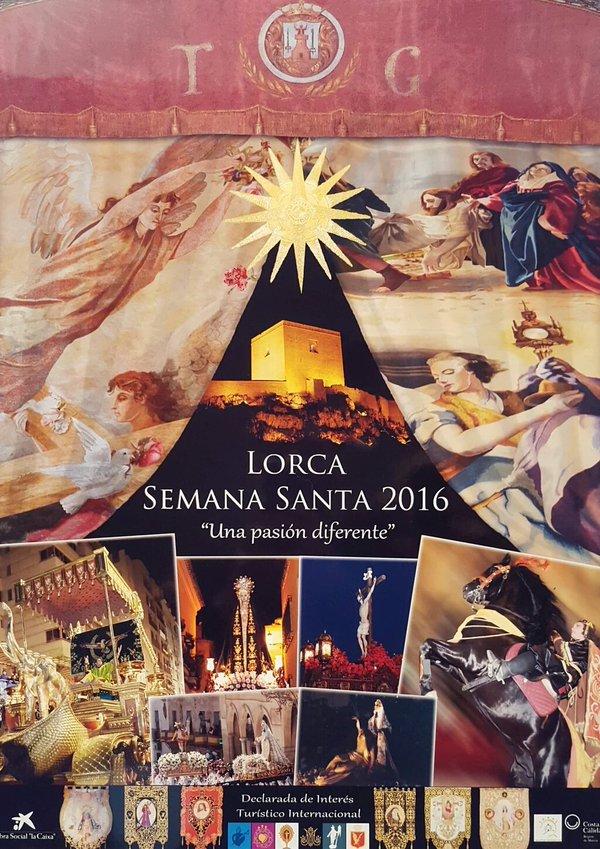 Cartel de la semana santa de lorca 2016