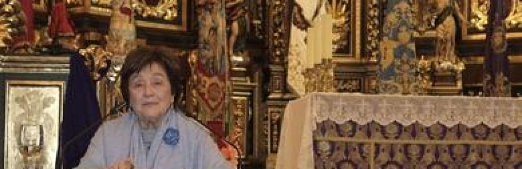 Pilar Ibañez Martín da el pregón de la Semana Santa 2014