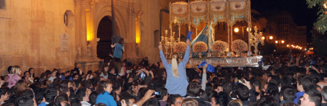Sereneta Azul. Comienza la Semana Santa de Lorca 2014